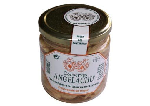 Thon bonito del norte en morceaux - Angelachu - Conserves d'anchois de Santoña - Cantabrie