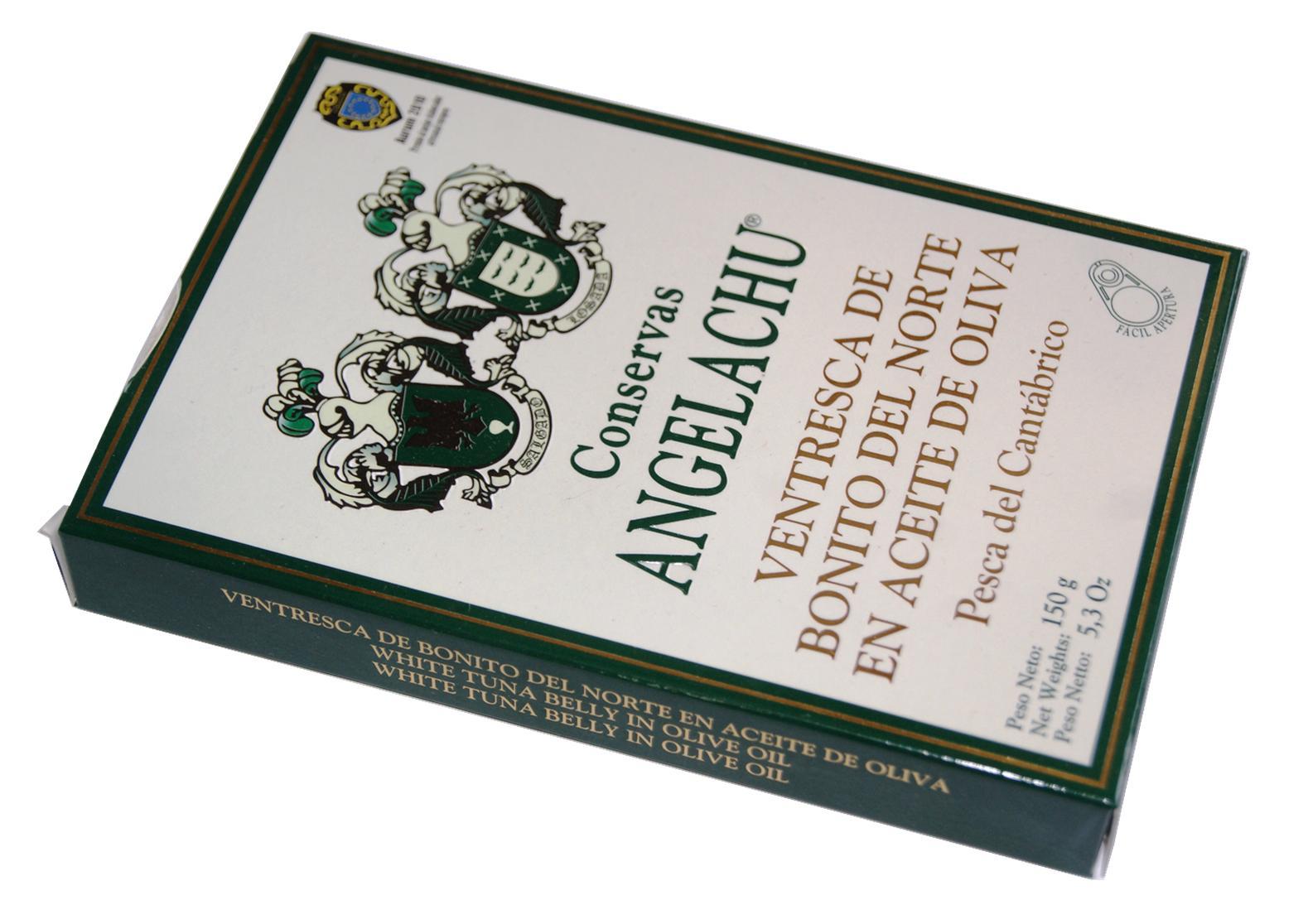 Ventrèche de thon Bonito - Angelachu - Conserves de filets d'anchois de Santoña - Cantabrie