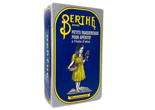Petits Maquereaux pour l'apéritif - Berthe - Conserves de sardines du Portugal
