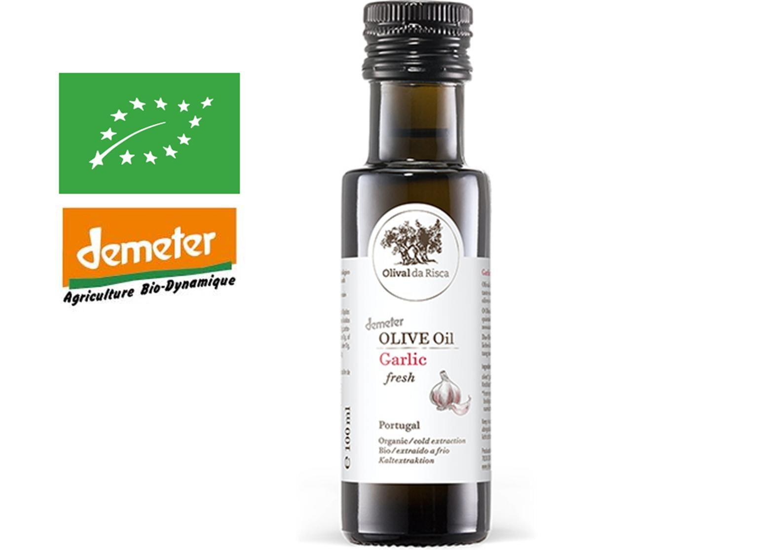 Risca Grande - ail 25cl - Huile d'olive bio du Portugal
