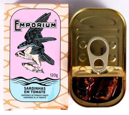 Boite de sardines à la tomate  - Emporium - Conserves de poissons du Portugal