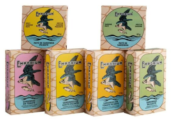 La gamme des conserves de sardines - Emporium - Conserves de poissons du Portugal
