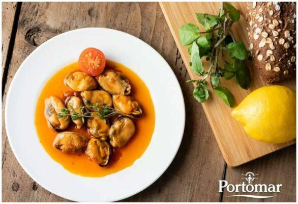 Plat de moules en escabèche - Portomar - Conserves de poissons et crustacés - Galice - Espagne