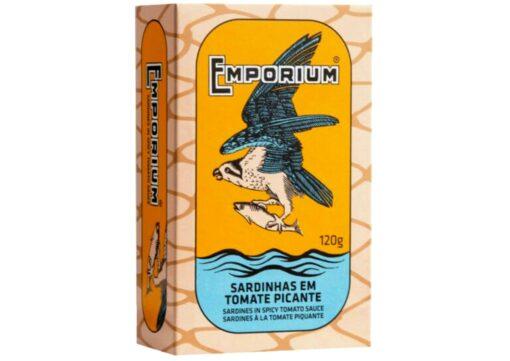 Sardines à la tomate piquante - Emporium - Conserves de poissons du Portugal
