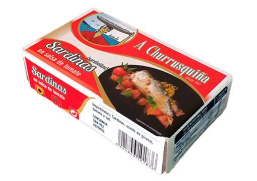 Sardinettes à la tomate - Conserves Roma Churrusquina - produits de Galice Espagne