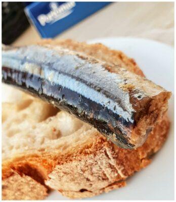 Tartine de sardines - Portomar - Conserves de poissons et crustacés - Galice - Espagne