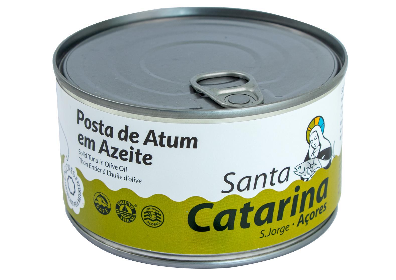 Darne de thon des Açores à l'huile d'olive - Santa Catarina - Conserves de thon bonito des Açores