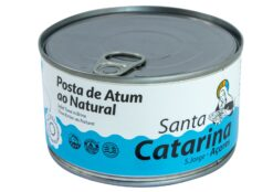 Darne de thon des Açores au naturel - Santa Catarina - Conserves de thon bonito des Açores