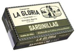 Petites sardines ou sardinettes -Conserves La Gloria - Costera - Asturies Espagne