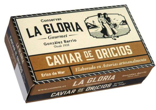 Caviar d'oursin -Conserves La Gloria - Costera - Asturies Espagne