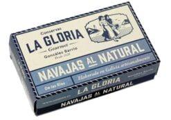 Couteaux au naturel -Conserves La Gloria - Costera - Asturies Espagne