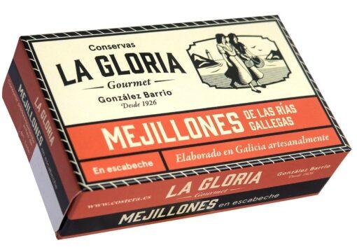 Moules à l'escabèche - Conserves La Gloria - Costera - Asturies Espagne