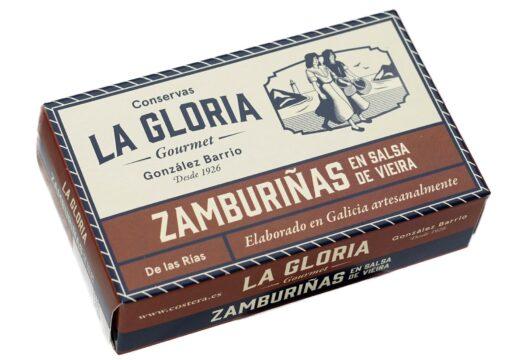 Noix de pétoncles à la sauce Vieira - Conserves La Gloria - Costera - Asturies Espagne