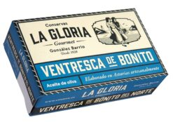 Ventrèche de thon Bonito - Conserves La Gloria - Costera - Asturies Espagne
